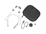 Poly Voyager B6200 UC USB-A Bluetooth Behind the Neck Wireless Stereo Headset with Noise Cancelling - Sand