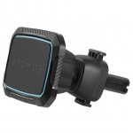 Promate AirGrip-2 360 Degree Cradle-Free Magnetic AC Vent Mount - Blue