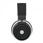 Promate Astro Ergonomic Over-Ear Stereo Wireless Bluetooth Headphones - Black
