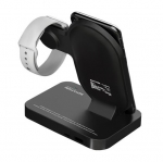 Promate AURABASE Universal Wireless Charging Dock - Black