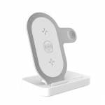 Promate AuraBase Universal Wireless Charging Dock - White