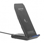 Promate AuraDock-4 Universal Multi-Angle Wireless Charging Dock - Black
