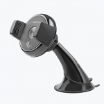 Promate AURAMOUNT-2 Universal 360 Degree Rotatable Car Dash/Window Mount with Wireless Phone Charging