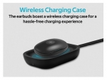 Promate Autonomy High Definition Metallic In-ear Wireless Earbuds with IntelliTouch - Black