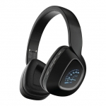 Promate Bavaria Deep Bass Bluetooth Over-Ear Wireless Headphone - Black