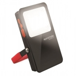 Promate BEACON-1 5400mAh Power Bank with Ultra-Bright Portable LED Flood Light - Black