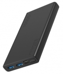 Promate BOLT-10 10000mAh Dual Port Powerbank - Black