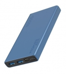 Promate BOLT-10 10000mAh Dual Port Powerbank - Blue