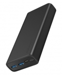 Promate BOLT-20 20000mAh Dual Port Powerbank - Black