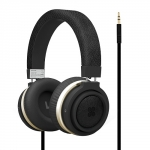Promate Boom Dynamic Hi-Fi Stereo Wired Headset - Black