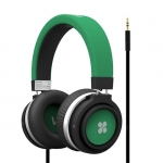 Promate BOOM Dynamic Hi-Fi Over Ear Ergonomic Stereo Wired Headset - Green