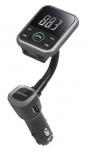 Promate Carmate-6 Car Wireless FM Transmitter Hands-Free Car Kit with USB Car Charger