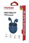 Promate Charisma-2 In-Ear High Fidelity Earbuds - Blue