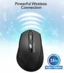 Promate CLIX-6 Wireless Optical Mouse - Black