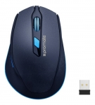 Promate CLIX-6 Wireless Optical Mouse - Blue