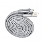 Promate COILINE-C 1.2m Lightning to USB Charge & Sync Cable - Grey
