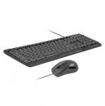 Promate COMBO-KM1 USB Wired Keyboard and Mouse