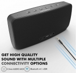 Promate CONCERTO 40W High Bass Wireless & 3.5mm Aux Speaker with Subwoofer - Black