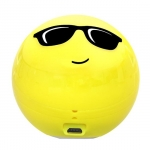 Promate COOLCLASSIC 3W Portable Wireless Bluetooth Speaker - Cool Emoji