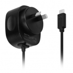 Promate CPLUG-5V3A 1.5m USB-C Wall Charging Cable - Black