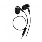 Promate EarMate-iS Multi-functional Universal Stereo Headphones - Black