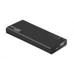 Promate ENERGI-6 6000mAh Slim Battery Powerbank - Black