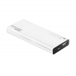 Promate ENERGI-6 6000mAh Slim Battery Powerbank - White