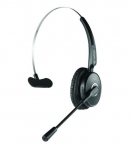 Promate Engage Bluetooth Overhead Wireless Mono Headset - Black