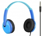 Promate JAMZ Kids Over-The-Ear Wired Stereo Headset with Built-In Mic - Blue