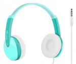 Promate JAMZ Kids Over-The-Ear Wired Stereo Headset with Built-In Mic - Green