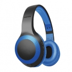 Promate Laboca Deep Bass Bluetooth Over-Ear Wireless Headphone - Blue
