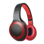 Promate Laboca Deep Bass Bluetooth Over-Ear Wireless Headphone - Red