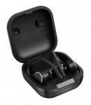 Promate Liberty Smart Sporty Bluetooth Wireless Earbuds with IntelliTap - Black