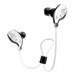 Promate Lite-2 Premium Sporty Universal Stereo Ear Bud Wireless Bluetooth Headphones - White