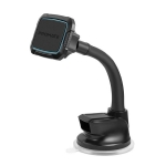Promate magMount-6 360° Cradleless Magnetic Car Mount with Flexible Gooseneck - Blue
