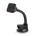 Promate magMount-6 360° Cradleless Magnetic Car Mount with Flexible Gooseneck - Maroon