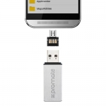 PROMATE Ultra-Compact USB Type-A to Micro-USB OTG Adapter