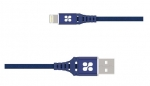 Promate NERVELINK-I2 2m Lightning to USB Charge & Sync Cable - Blue