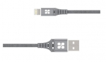 Promate NERVELINK-I2 2m Lightning to USB Charge & Sync Cable - Grey