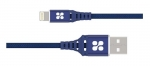 Promate NerveLink-i 1.2m Ultra-Slim USB-A To Lightning Power and Data Cable - Blue