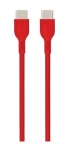 Promate Powerbeam-CC2 2m USB-C to USB-C Data Sync & Charge Cable - Red