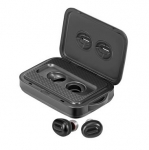 Promate POWERBEAT Wireless Bluetooth Ear Buds with 5000mAh Battery Powerbank & Charging Case
