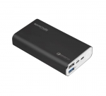 Promate POWERPEAK-10 10000mAh Dual Port USB-C Battery Powerbank - Black