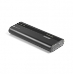 Promate POWERTANK-20 Ultra-Fast Charging 20000mAh 3.0 Powerbank with USB-C Power Delivery - Black