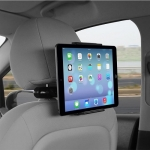 Promate ProHolder 3 Universal Heavy Duty Tablet Headrest Mount for Devices up to 10 Inch
