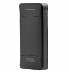 Promate Provolta-21 20800mAh 3.1A Smart Output 3 Port Power Bank - Black