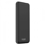 Promate Provolta-30 30000mAh 5.4A 3 Port Power Bank - Black