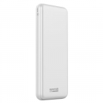 Promate Provolta-30 30000mAh 5.4A 3 Port Power Bank - White