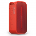 Promate Rustic-2 Portable IPX5 Water Resistant Wireless Bluetooth Speaker - Red