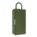 Promate RUSTIC-3 Portable IPX6 Water Resistant Wireless Bluetooth Speaker - Green